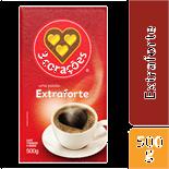 CAFÉ EXTRA FORTE 3 CORAÇÕES VÁCUO 500G