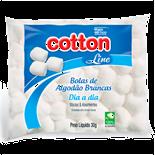 ALGODAO COTTON LINE BOLA BRANCA 30G