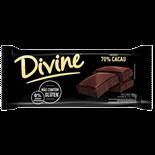 CHOCOLATE BARRA AMARGO 70% CACAU DIVINE DP 14 X 90G